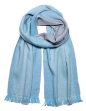 Load image into Gallery viewer, Alpaca Scarf Reversible  - Wet Weather