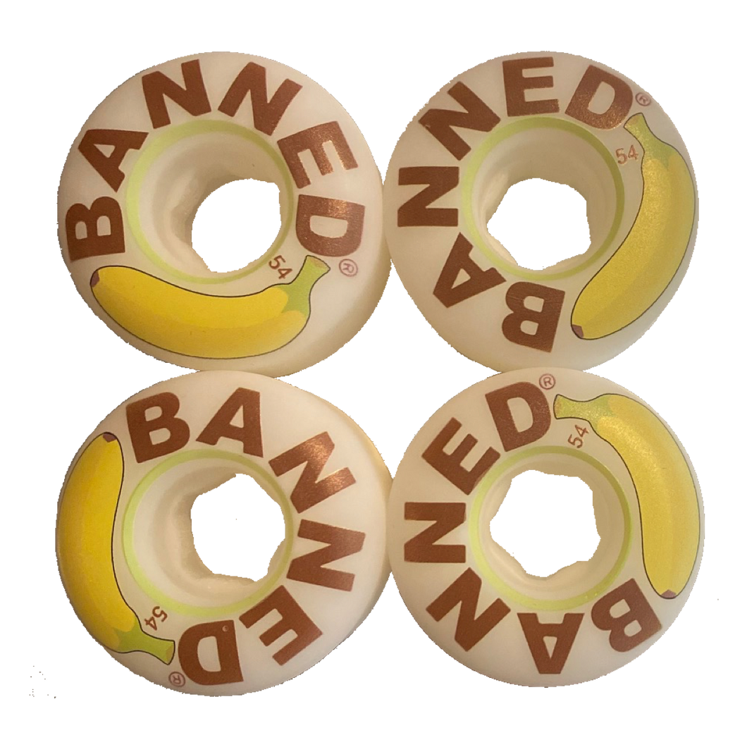 Banned Banana 54mm Wheels