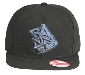 BANNED New Era Snapback Flat Black