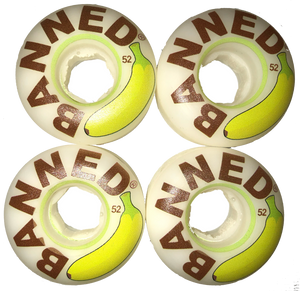 Banned Banana 52mm Wheels
