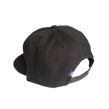 Load image into Gallery viewer, BANNED Midfielder Mesh Cap Curved Bill Snap Back Black