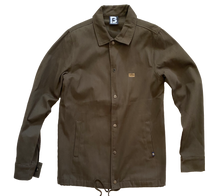 Load image into Gallery viewer, BANNED® Canvas Coach Jacket ARMY