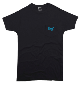 Script S/S Pocket T-Shirt