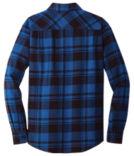 Load image into Gallery viewer, Balmoral Plaid Flannel L/S Shirt Blue