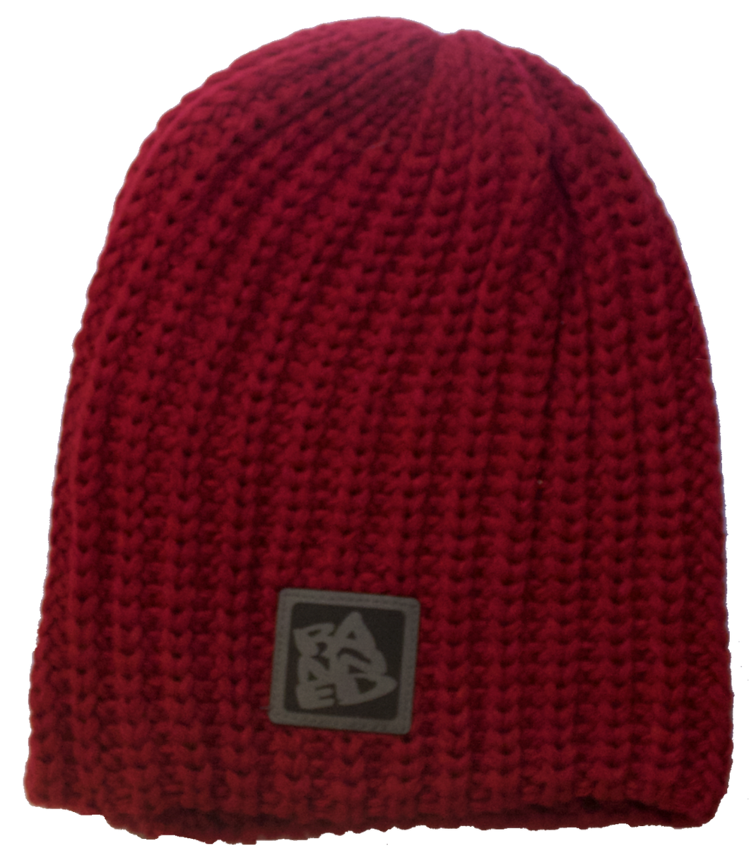The Wes Beanie Maroon