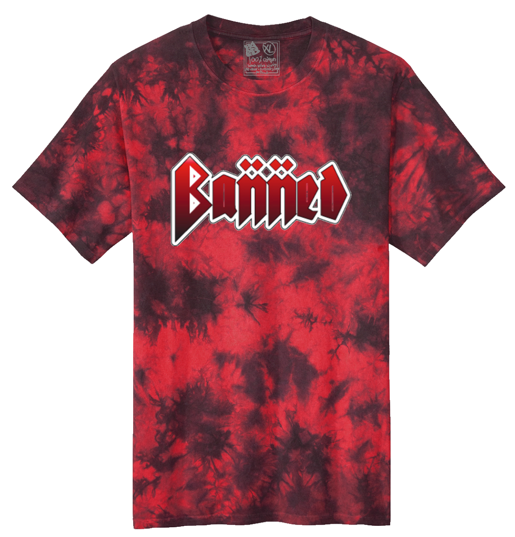 Metal Tie Dye S/S T-shirt Blood