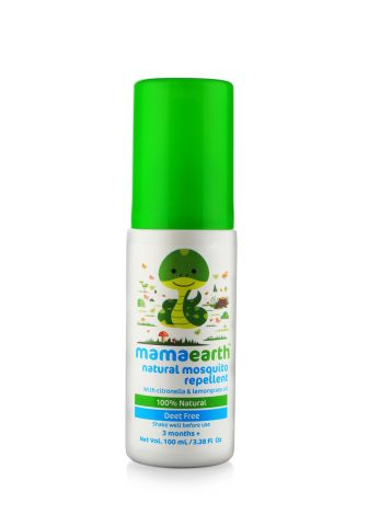 Organic and Natural Baby Mosquito Repellent BasicBrowns