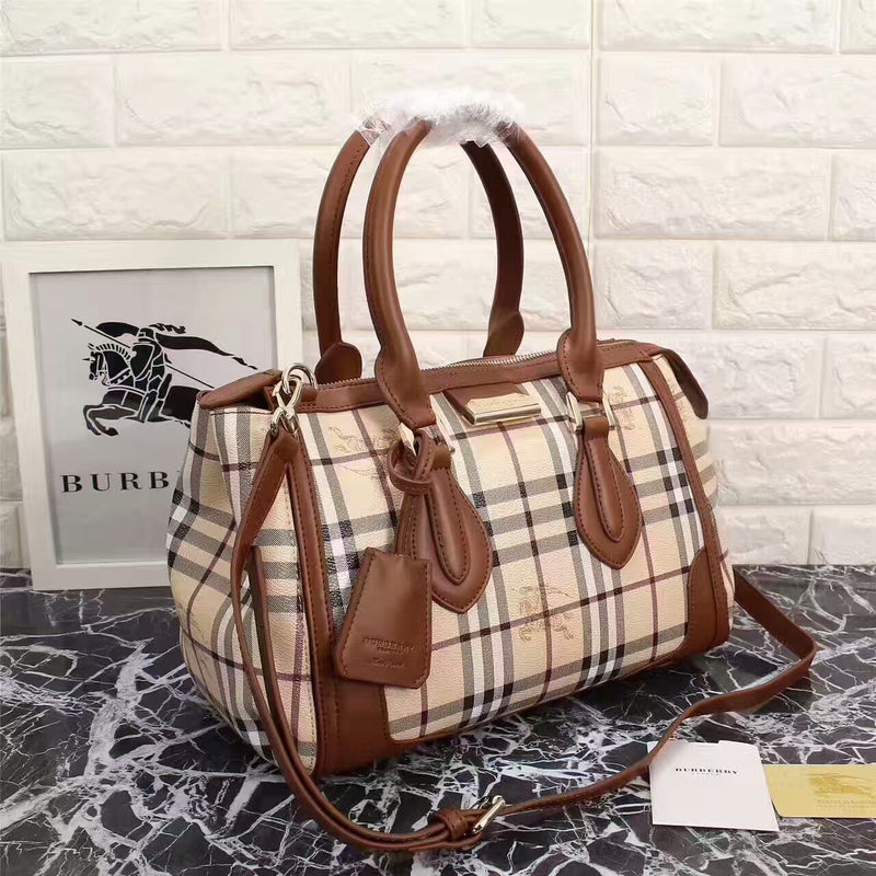 BURBERRY ORIGINAL AAAAAAA+  QUALITY LEATHER HANDBAG