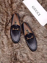 Gucci Original  quality Leather  loafers for Men
