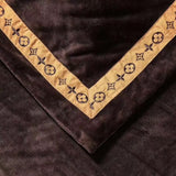 LOUIS VUITTON 100% COTTON BED SHEETS WITH 2 PILLOWCASES