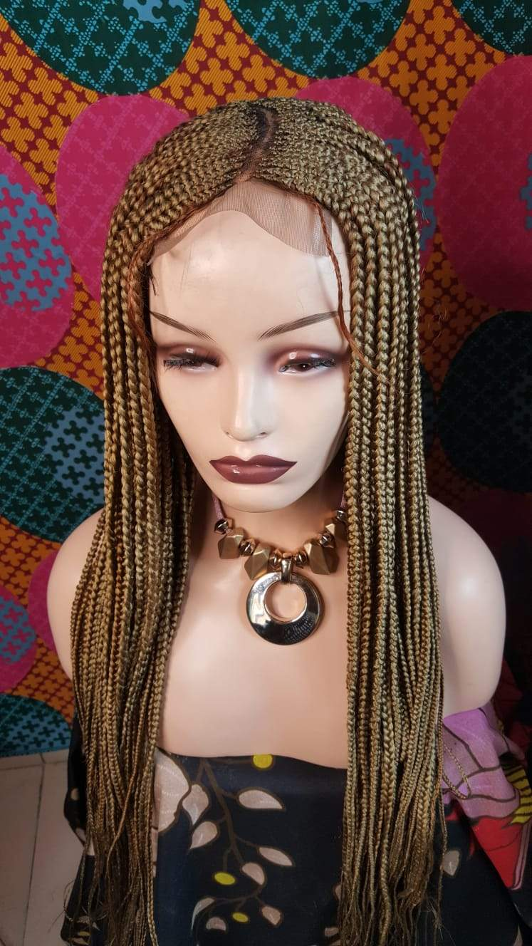 Tricia lace Closure Braid wig