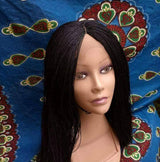 Million twisting handmade Braided Closure Wig