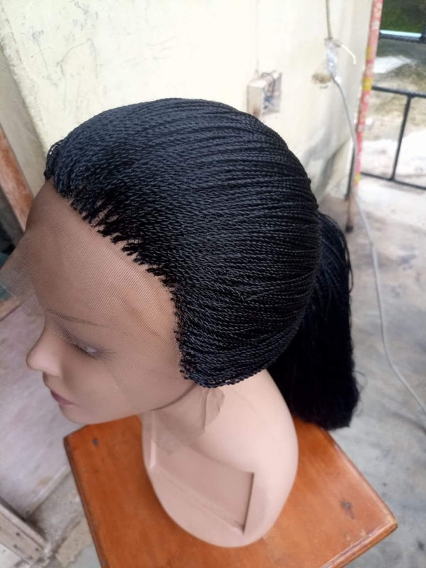 360 Frontal / Full lace Closure Braid wig