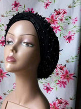 100% Original Quality Plain  Velvet Turbans with double hands