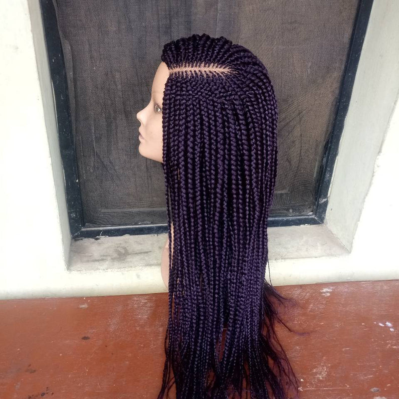 Frontal Lace Braid wig