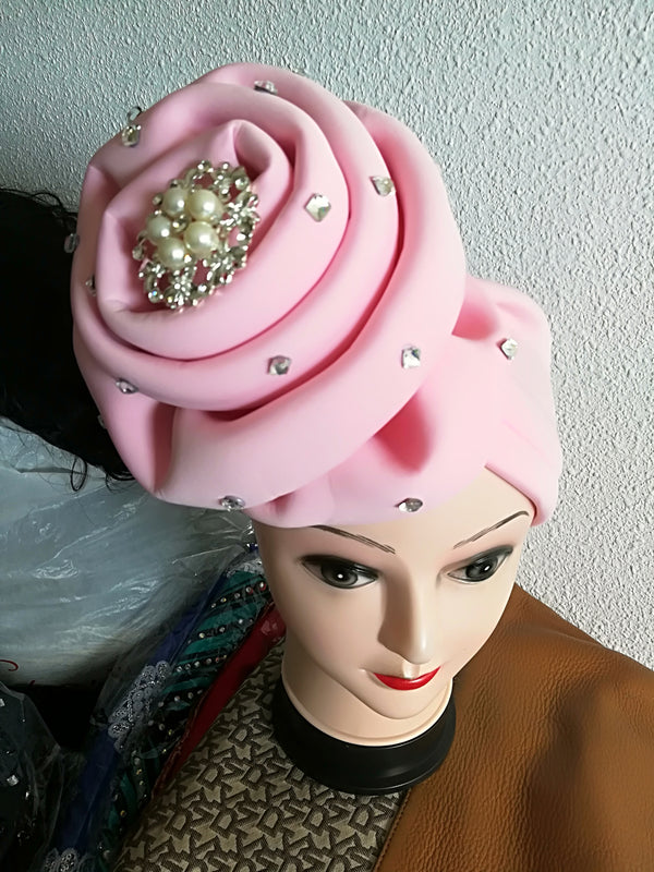 Turban Gele with brooches