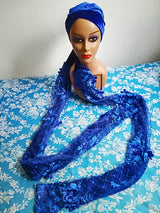 100% Original Quality Velvet Turbans with double hands