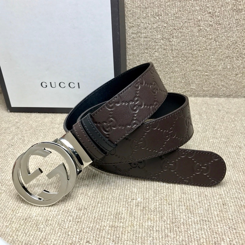 GUCCI LEATHER AAAAAAAA+++ BELTS