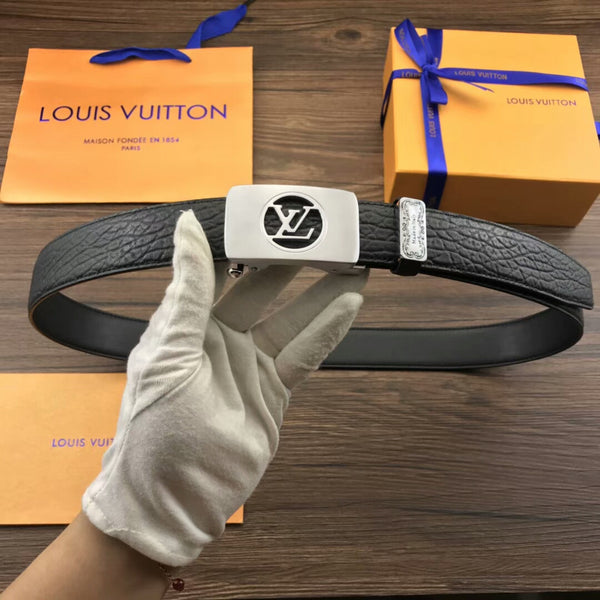 LOUIS VUITTON LEATHER AAAAAAAA+++ BELTS