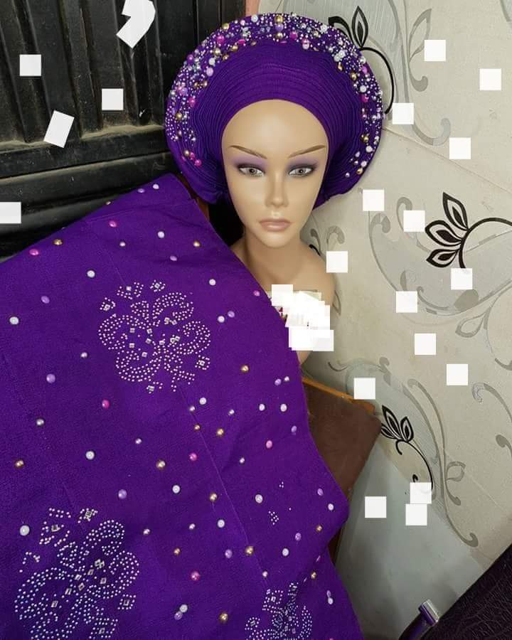 Aso - Oke Autogele + Shoulder