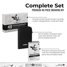 Load image into Gallery viewer, Drawing Pencil Kit - 40 Piece