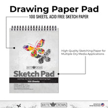 Load image into Gallery viewer, 9x12 Sketch Pad (100-sheet)