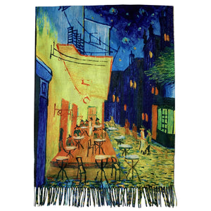 Villahuivi/-saali, 70cm x 180cm,  Van Gogh - Cafe Terrace At Night