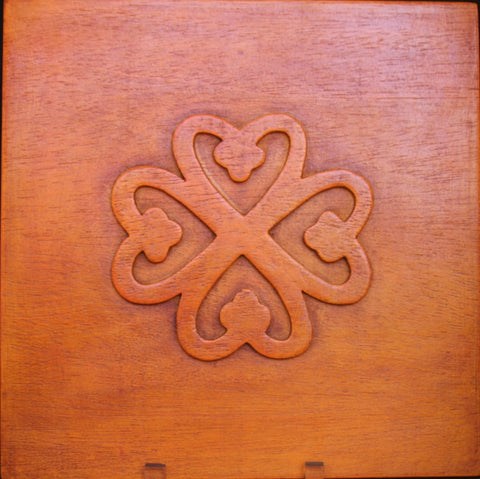"God's Presence & Protection Adinkra Symbol NYAME DUA Tree of God, Altar 12"" - Cultures International From Africa To Your Home"