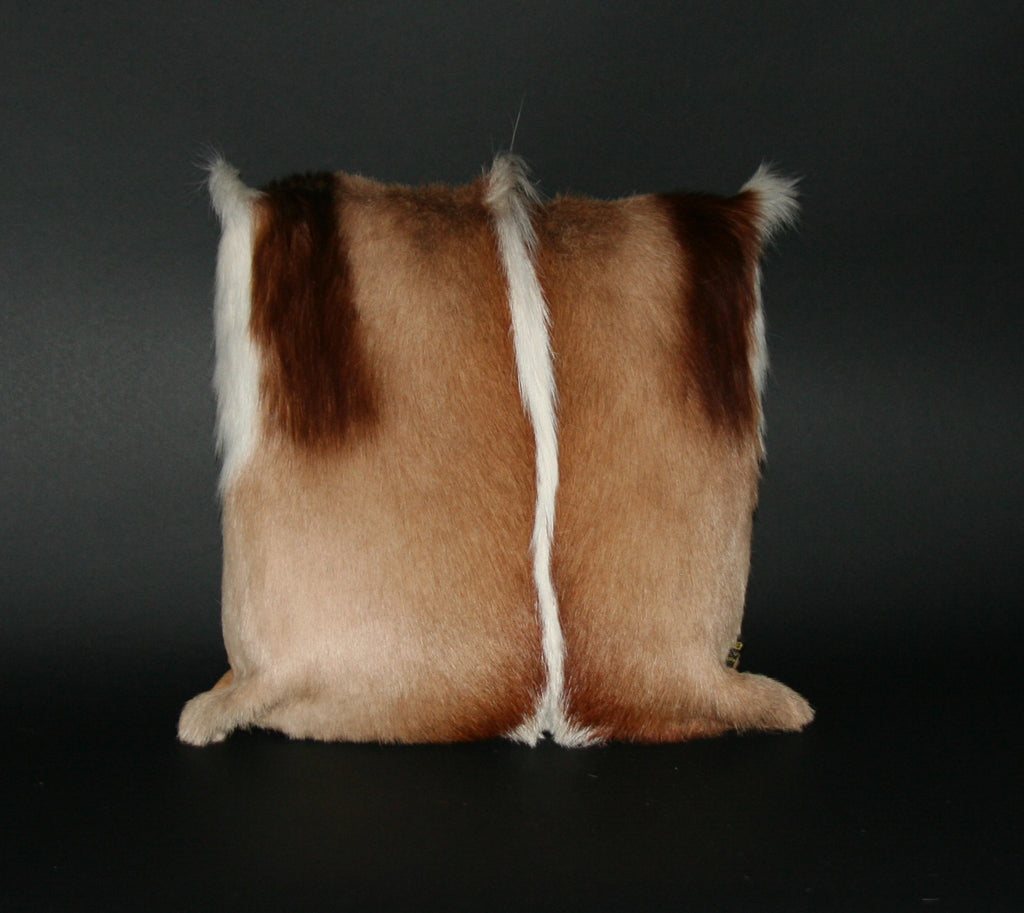 Springbok Authentic Fur Pillow South Africa. - Cultures International From Africa To Your Home