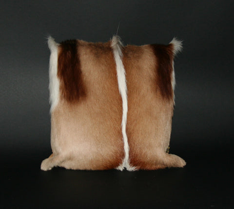 Springbok Authentic Fur Pillow South Africa. - culturesinternational  - 1