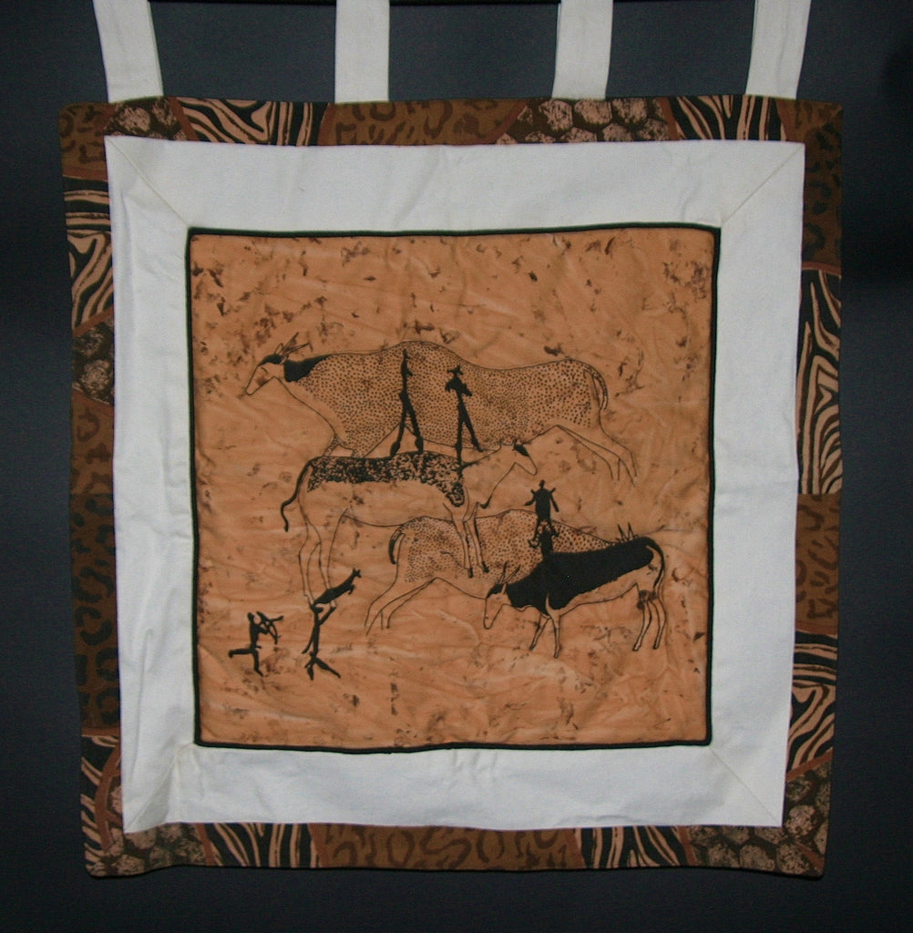 Cave Drawing Wall Hanging - Cultures International From Africa To Your Home