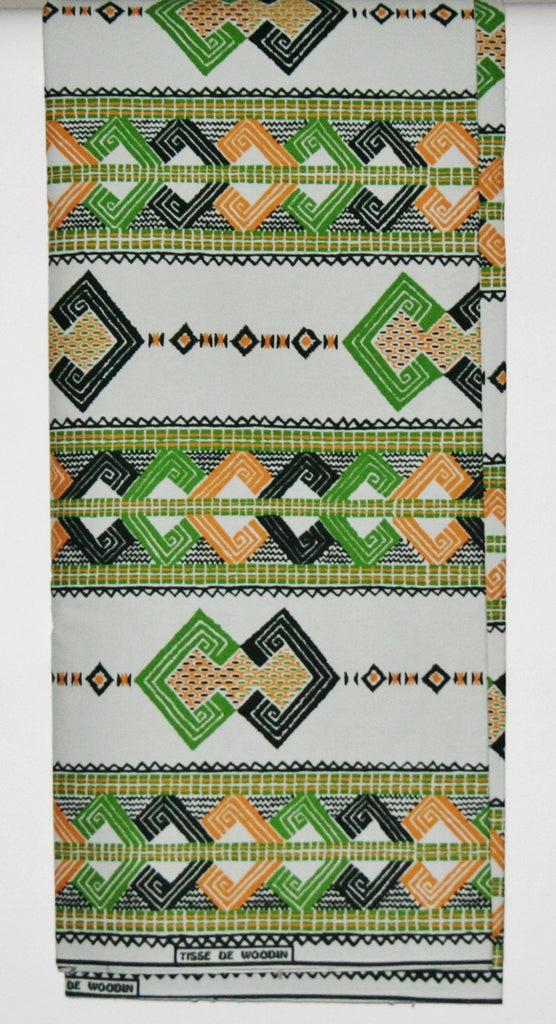 Vlisco Tisse De Woodin 6 Yards Classic African Fabric - Cultures International From Africa To Your Home
