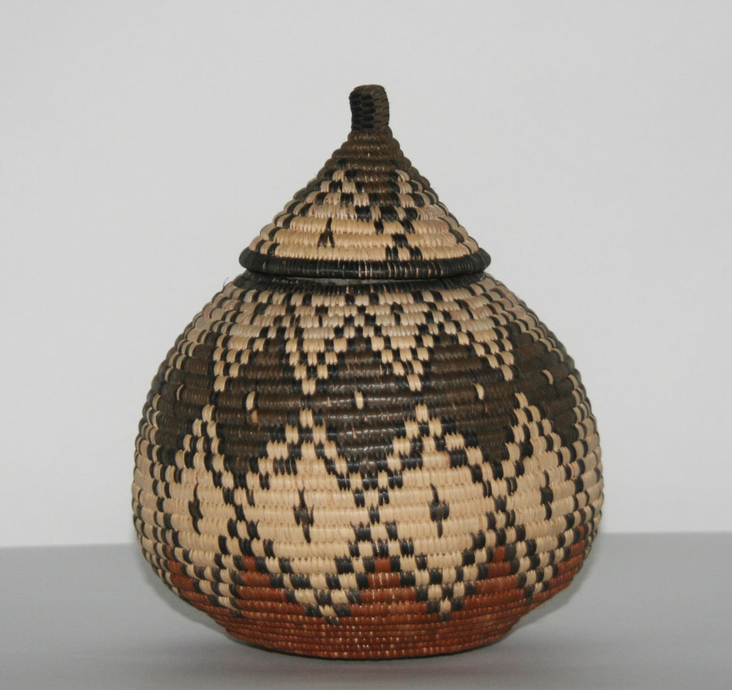 "African Basket Zulu Ukhamba Beer Basket 9""H X 9""D X 21""C Vintage - Cultures International From Africa To Your Home"