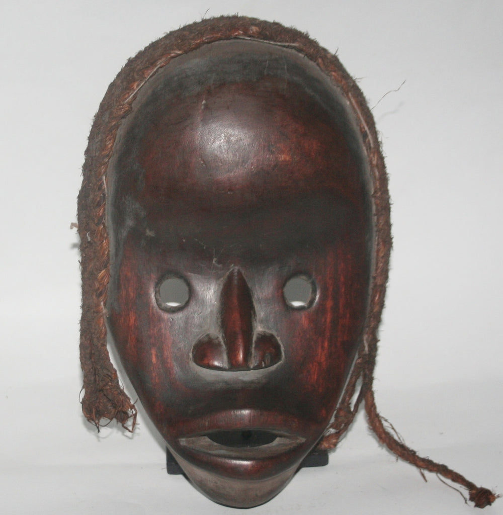 African Dan Mask Ivory Coast, West Africa Vintage Mask - Cultures International From Africa To Your Home
