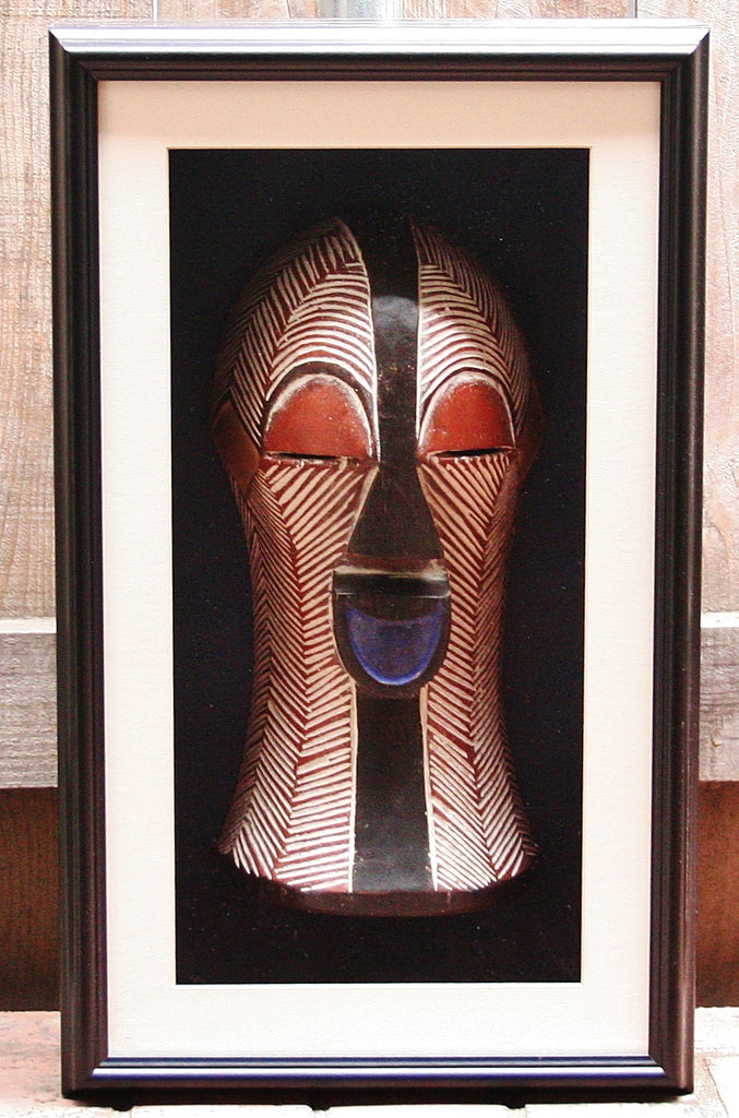 African Mask Songye Kifwebe Luba Tribal Congo Female - Cultures International From Africa To Your Home