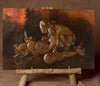 "African Copper Art Tribal Woman Pots & Fire 15"" X 23"" Congo D.R.C. - Cultures International From Africa To Your Home"