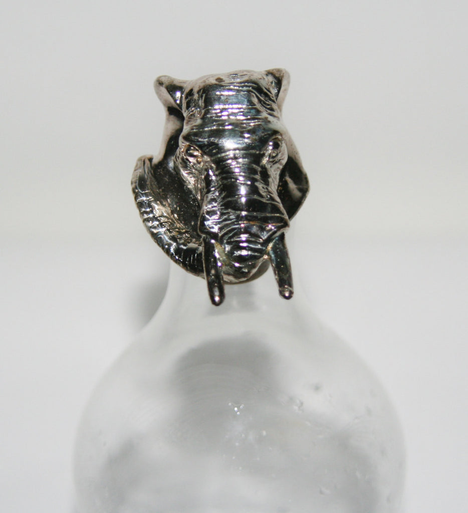 African Elephant Sterling Silver African Big 5 Vintage Handcrafted in South Africa - Cultures International From Africa To Your Home
