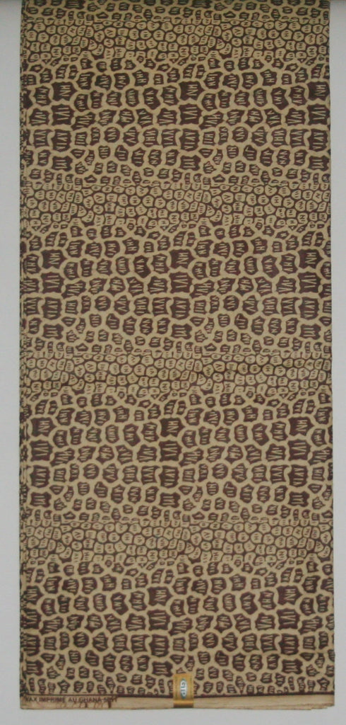African Fabric 6 Yards Vlisco Classic Wax GTP Print Ghana - Cultures International From Africa To Your Home