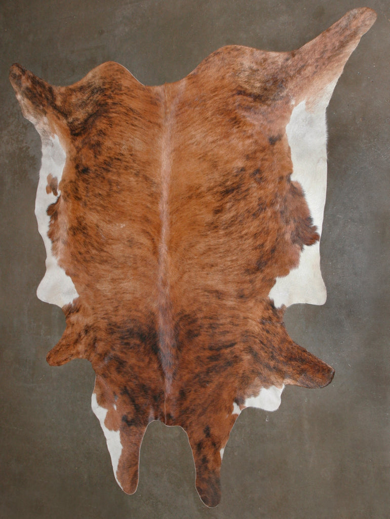 African Nguni Cowhide Skin Carpet Brown and White - South Africa - Cultures International From Africa To Your Home