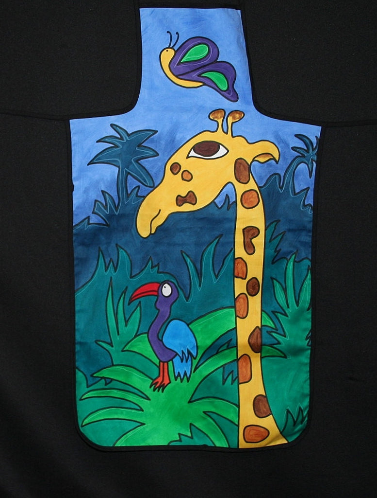 Apron Giraffe Hand Painted South Africa