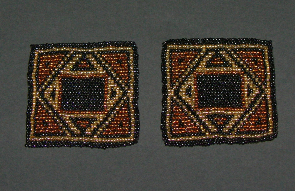 Beaded Coasters Handmade South Africa Set of 2 - Cultures International From Africa To Your Home