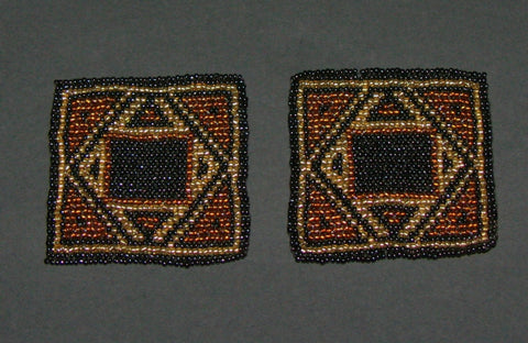 Beaded Coasters Handmade South Africa Set of 2