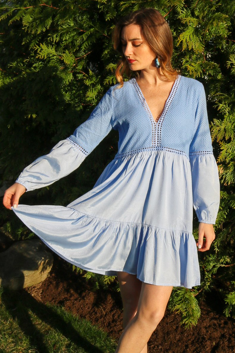 St. Barth's Dress / Periwinkle