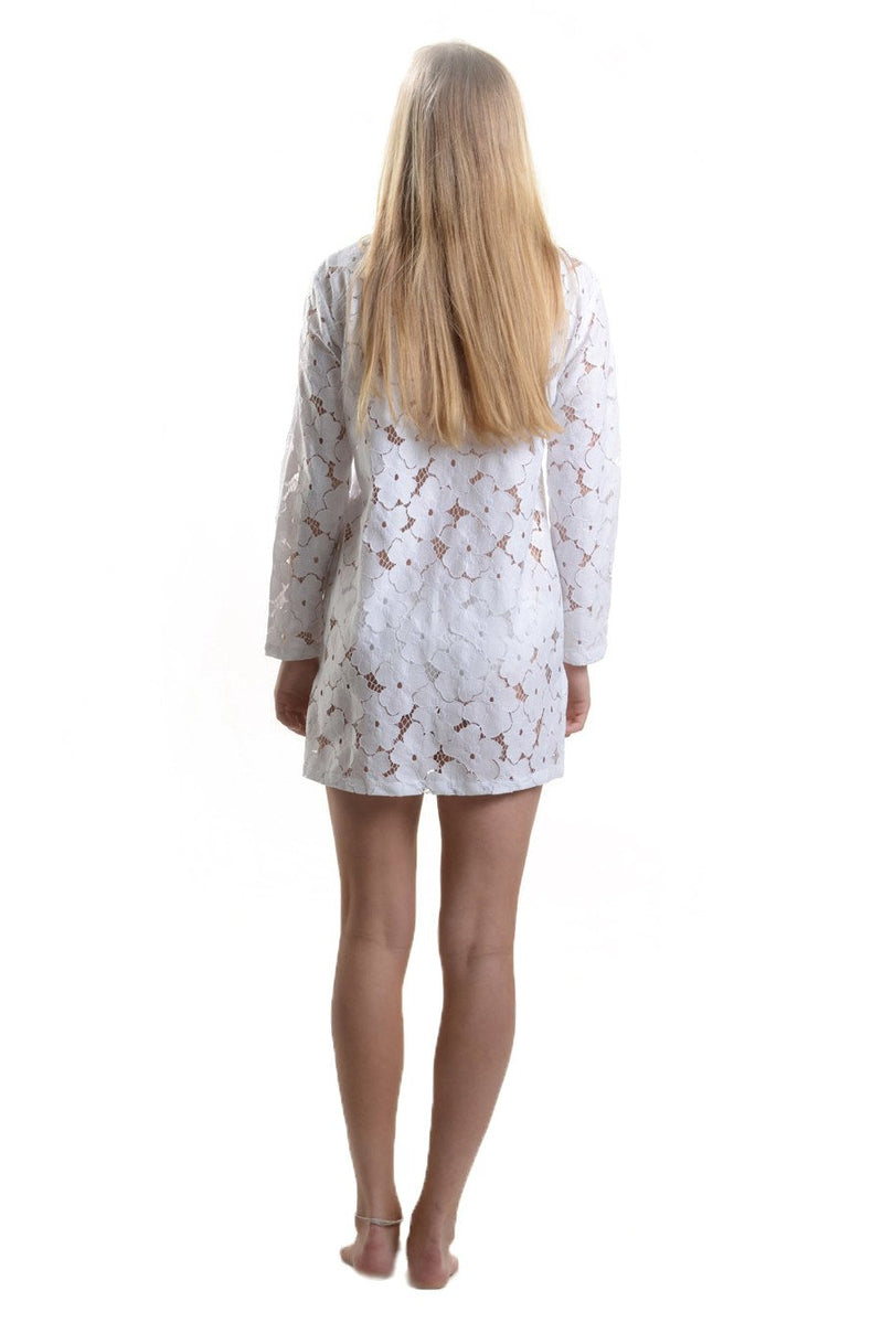 Bali Beach Blazer / White Lace - Walker&Wade  - 3