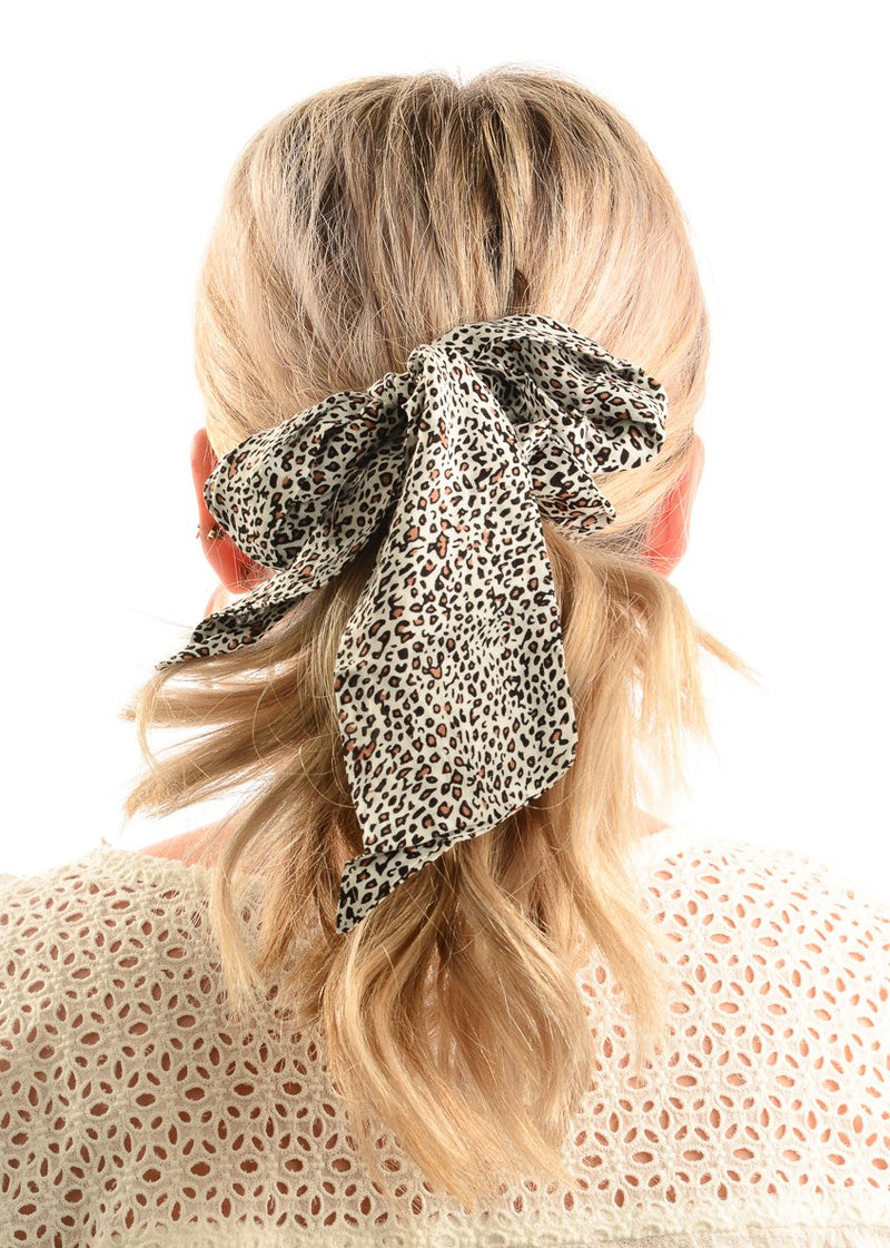 Hair Scrunchie / Cheetah