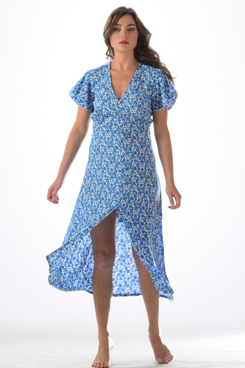 Debbie Dress / Poppy Blue