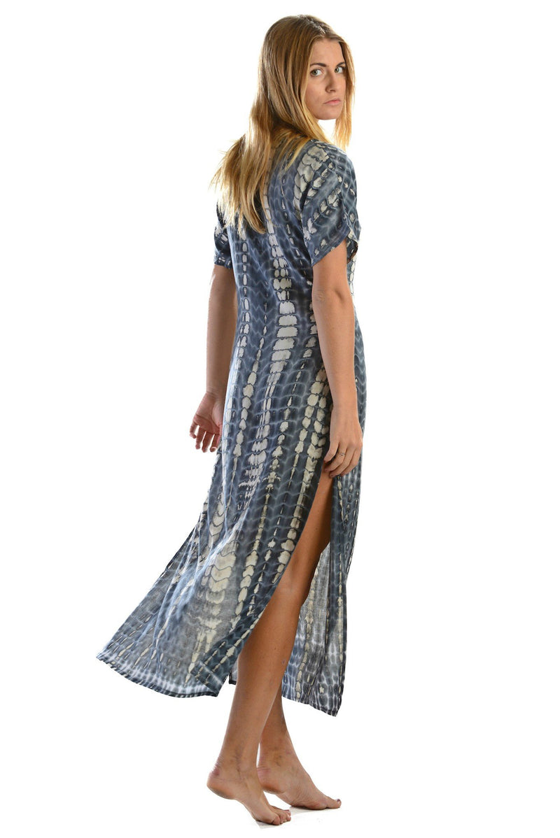 Uluwatu Dress / Charcoal - Walker&Wade  - 3