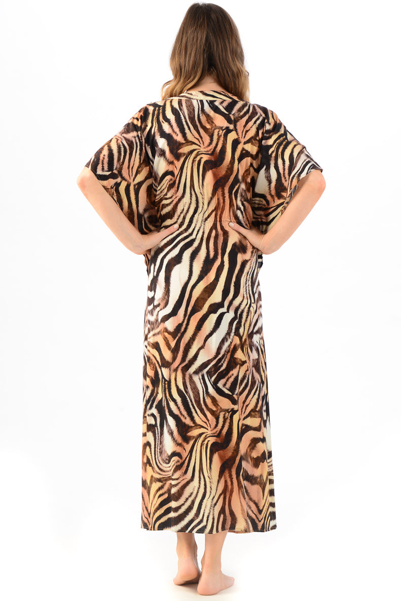 Michaela Dress / Tiger