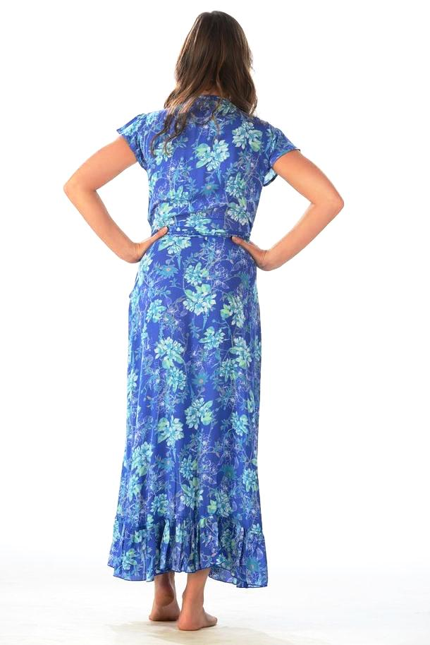 Voyager Dress / Ocean Blue