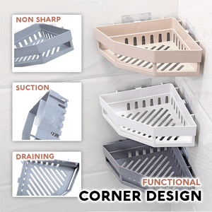 Easy Storage Corner Shelf